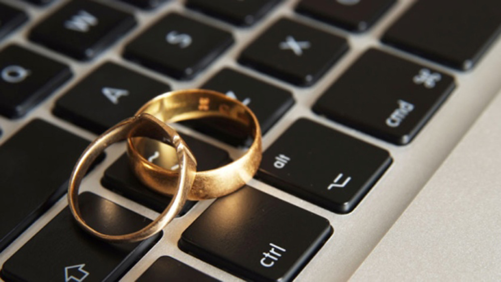 How can you get married online