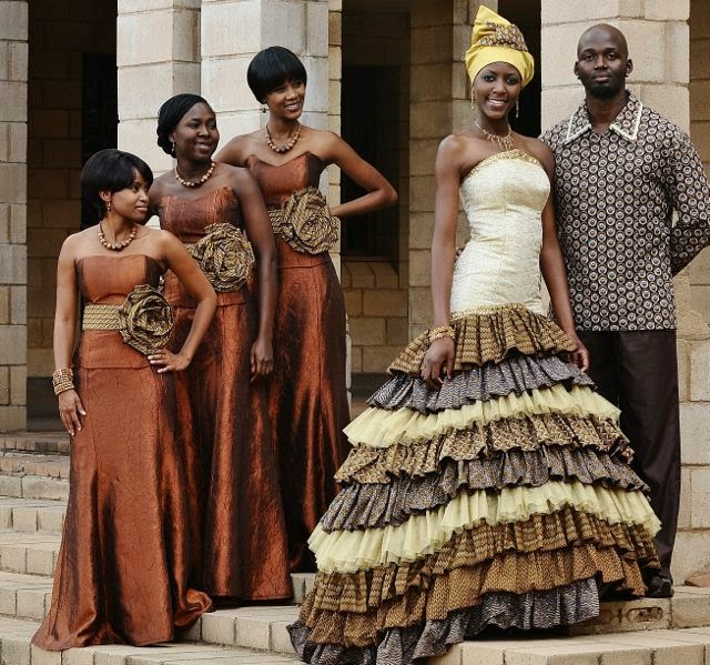 Wedding Ritual Of South Africa
